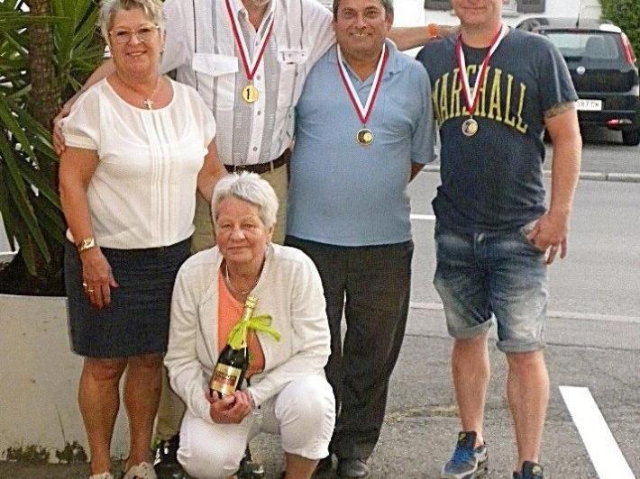 Minigolf-Meisterschaft der Riedmiller-Sparer
