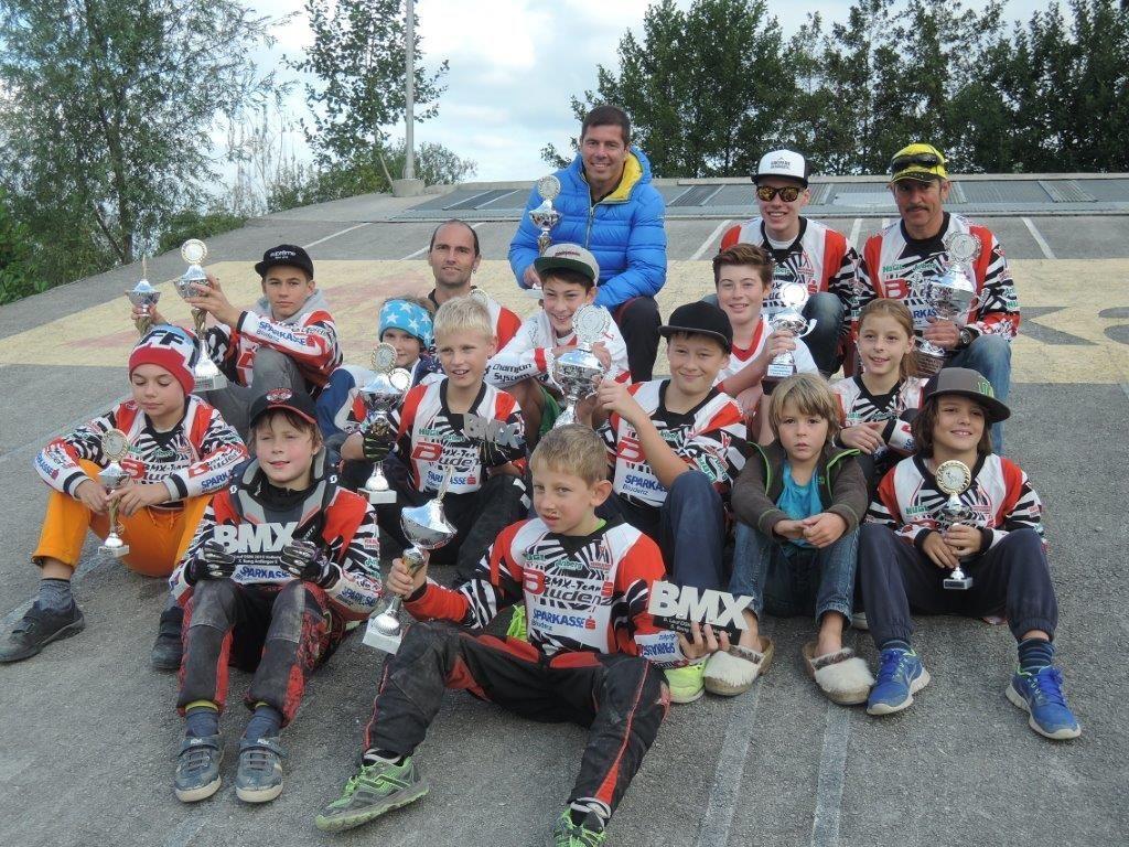 Erfolgreiches Bludenzer BMX-Team