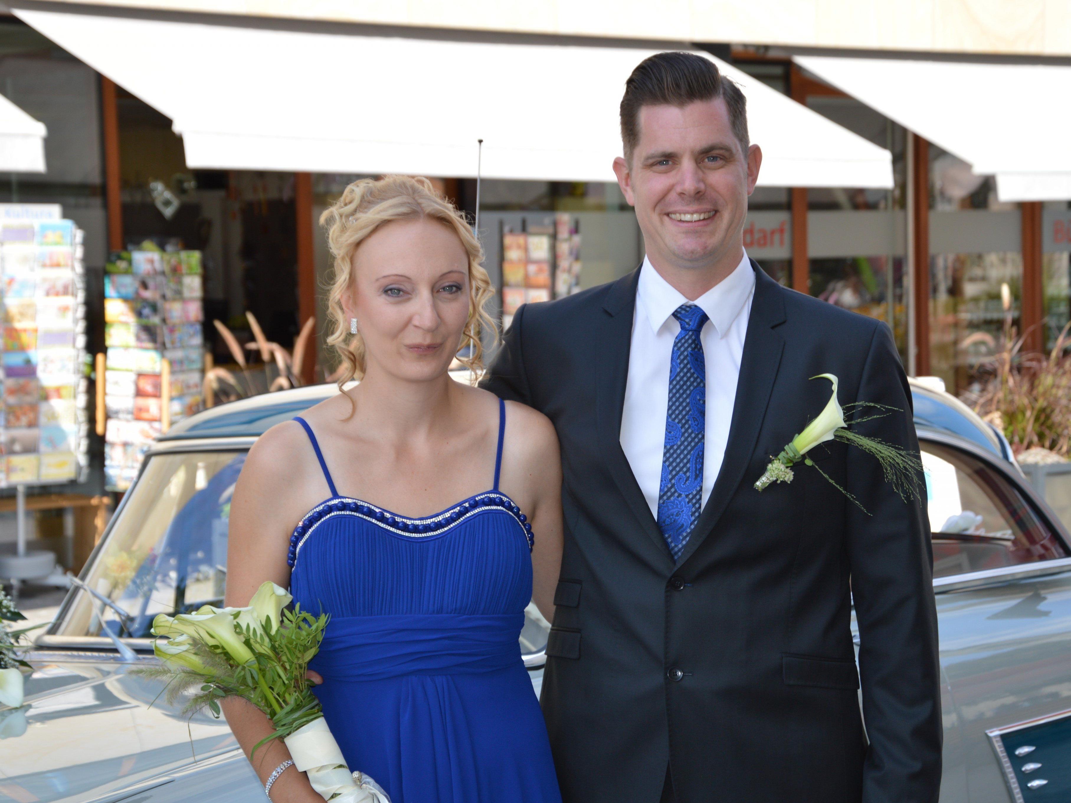Esther Wagner und Martin Schmitzer haben geheiratet