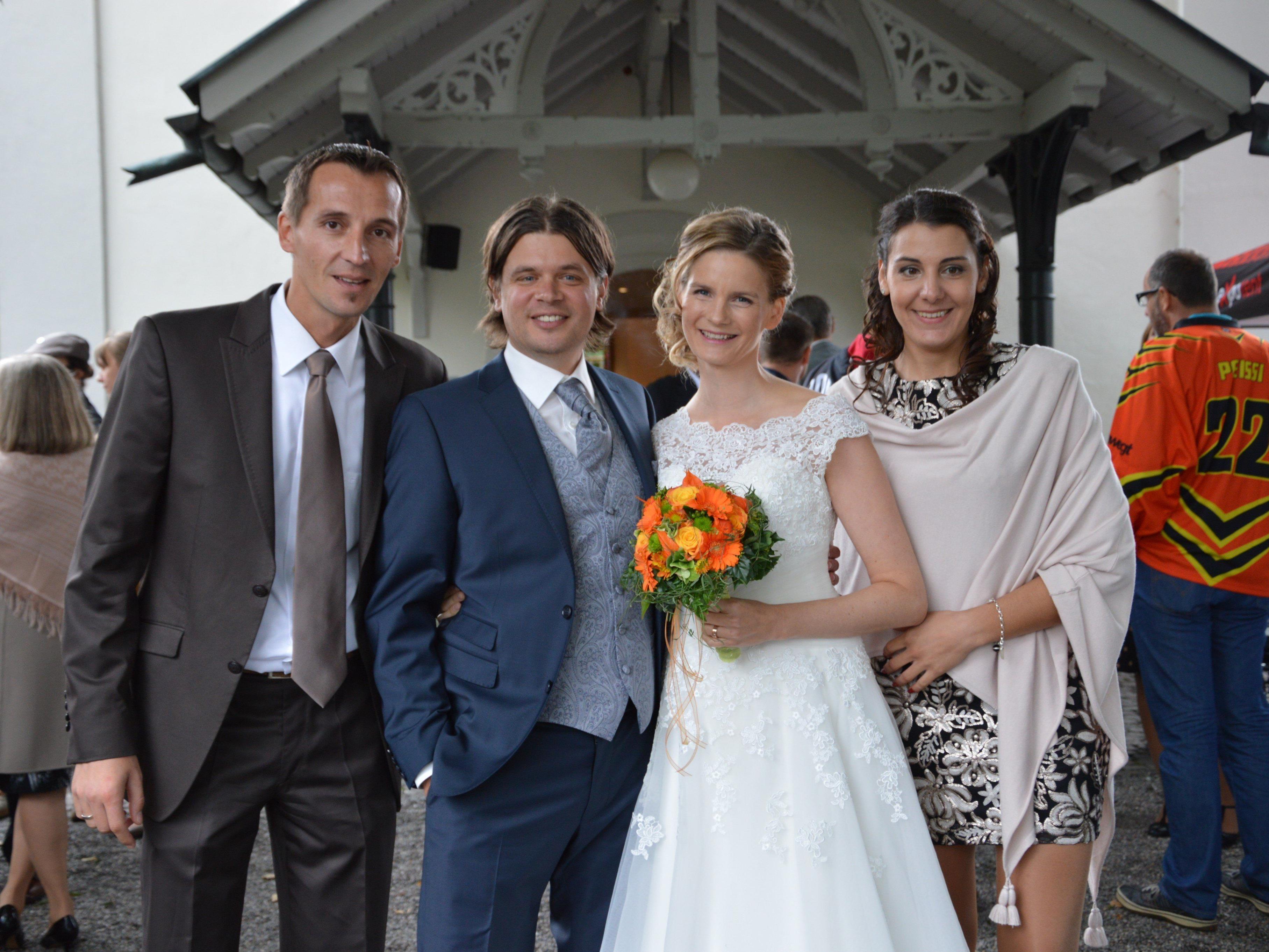 Johanna und Lukas Zwing feierten Hochzeit