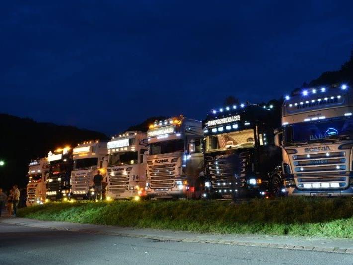 7. Scania Treffen am Samstag in Götzis