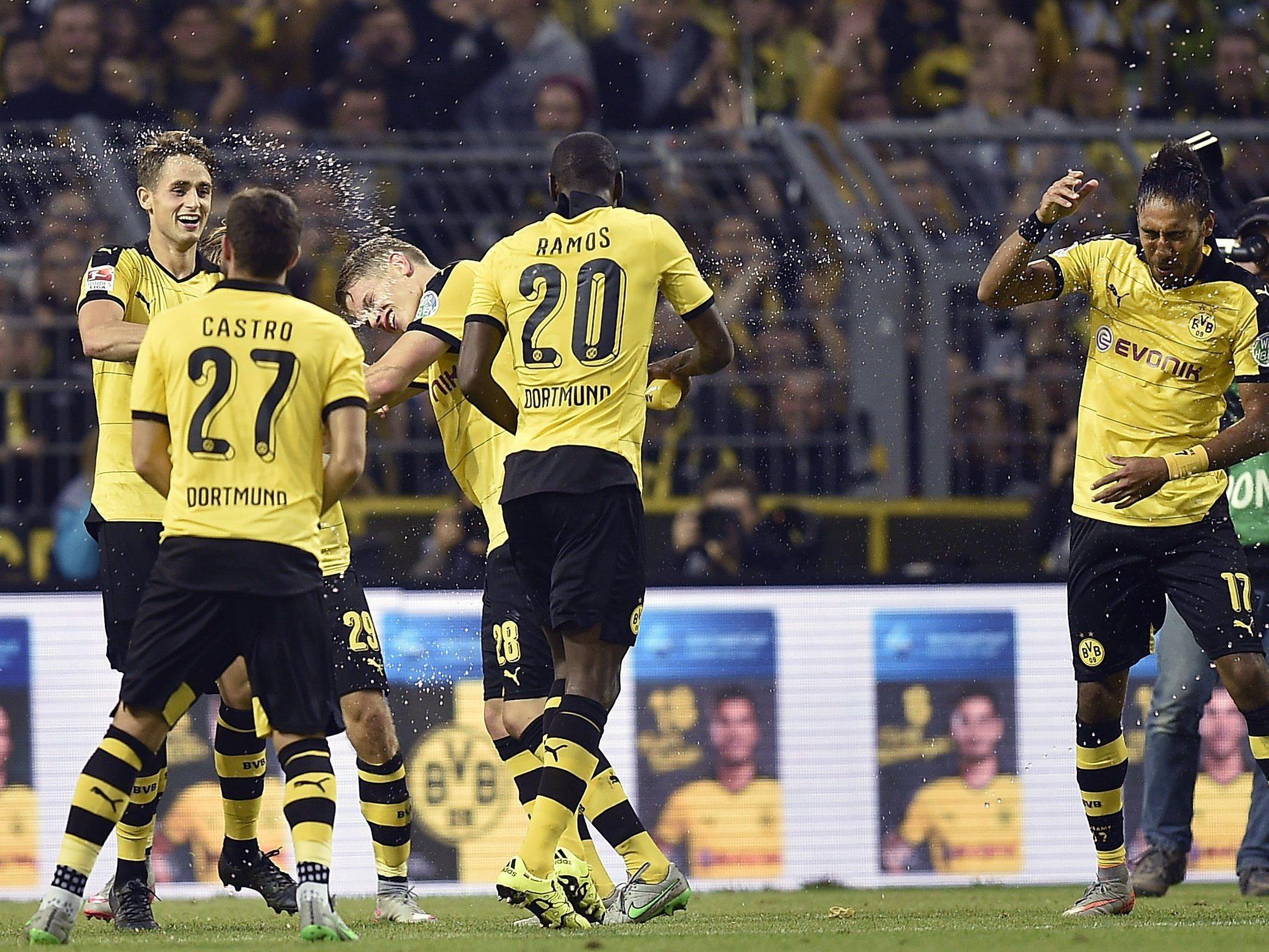 Dortmund will in der Tabelle an Bayern dran bleiben.