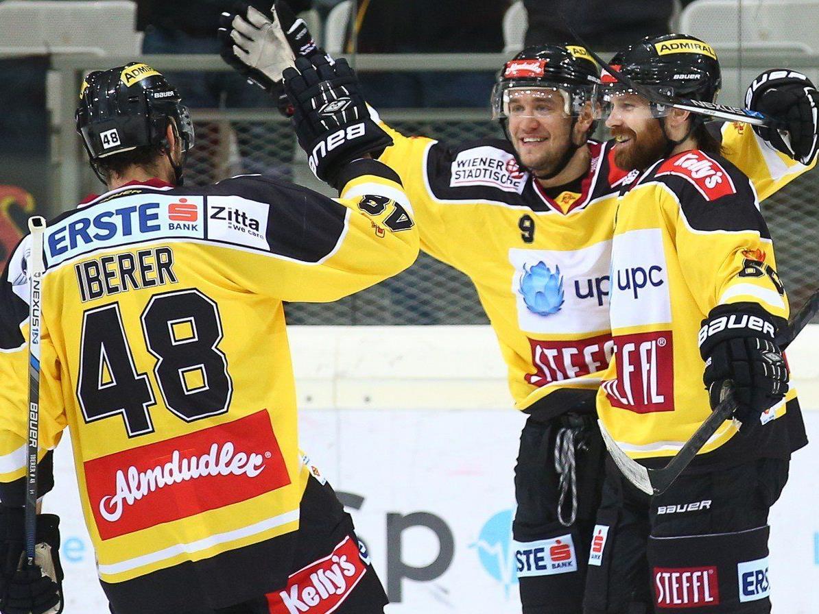 Die Vienna Capitals deklassierten Znojmo mit 7:1.