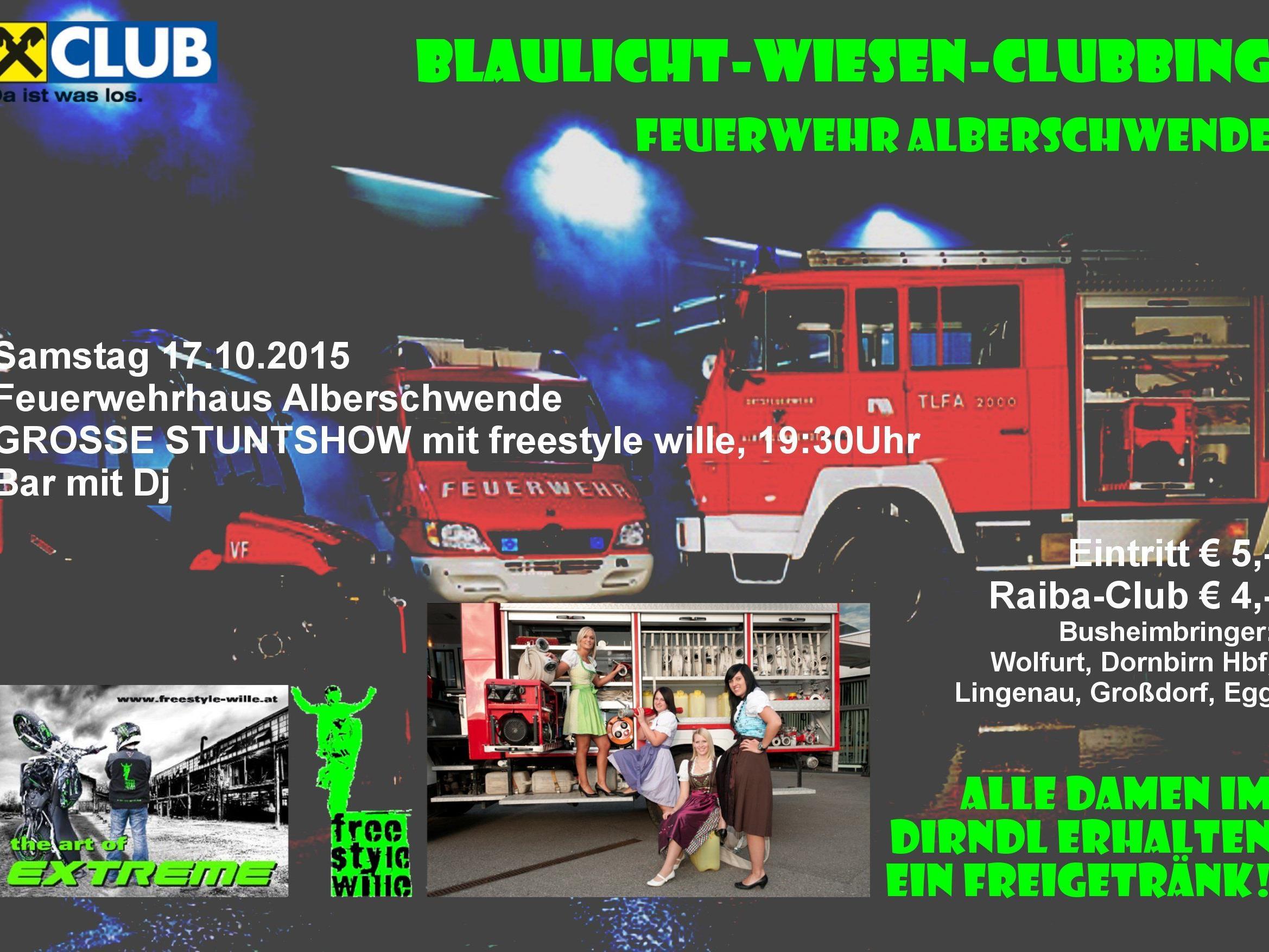Blaulicht-Wiesen-Clubbing 2015