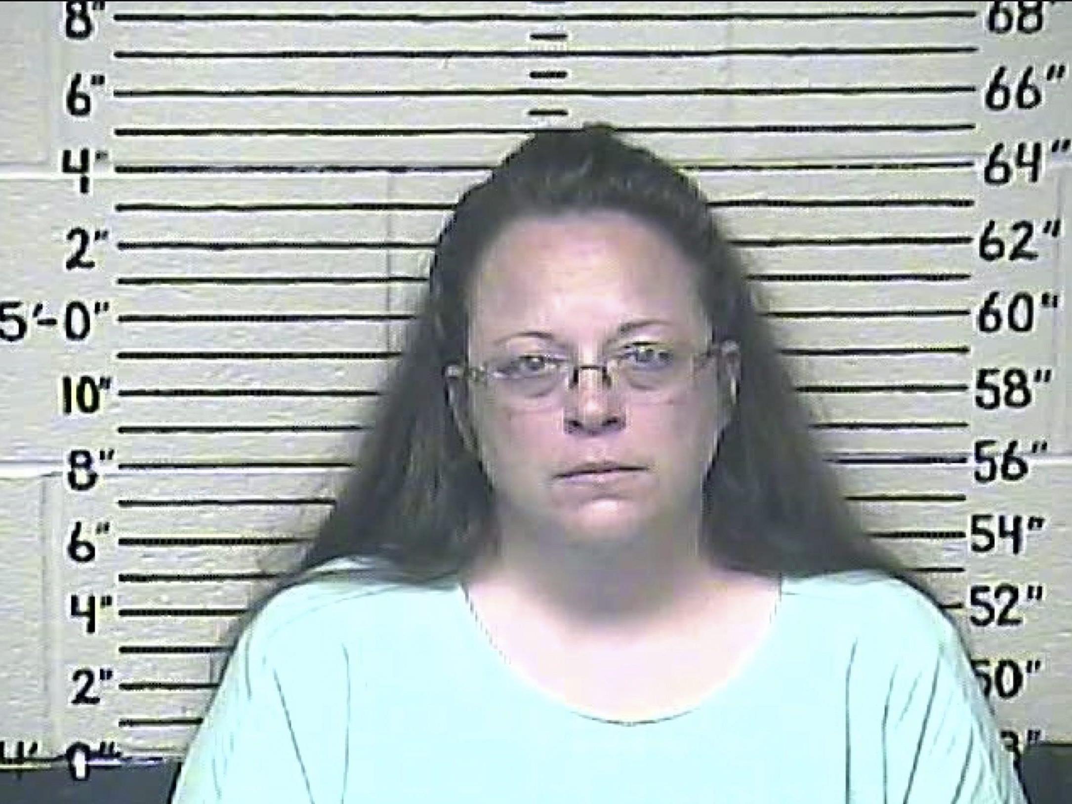 US-Standesbeamtin Kim Davis verweigerte Trauscheine für Homosexuelle.