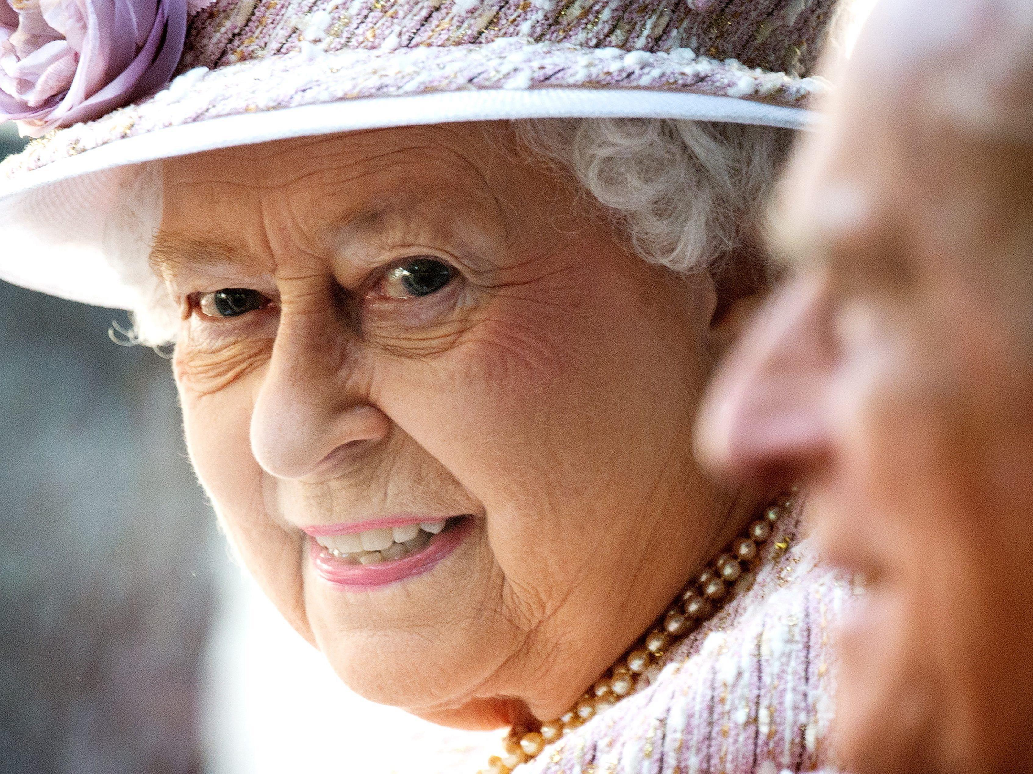 Königin Elizabeth II und Prinz Philip.