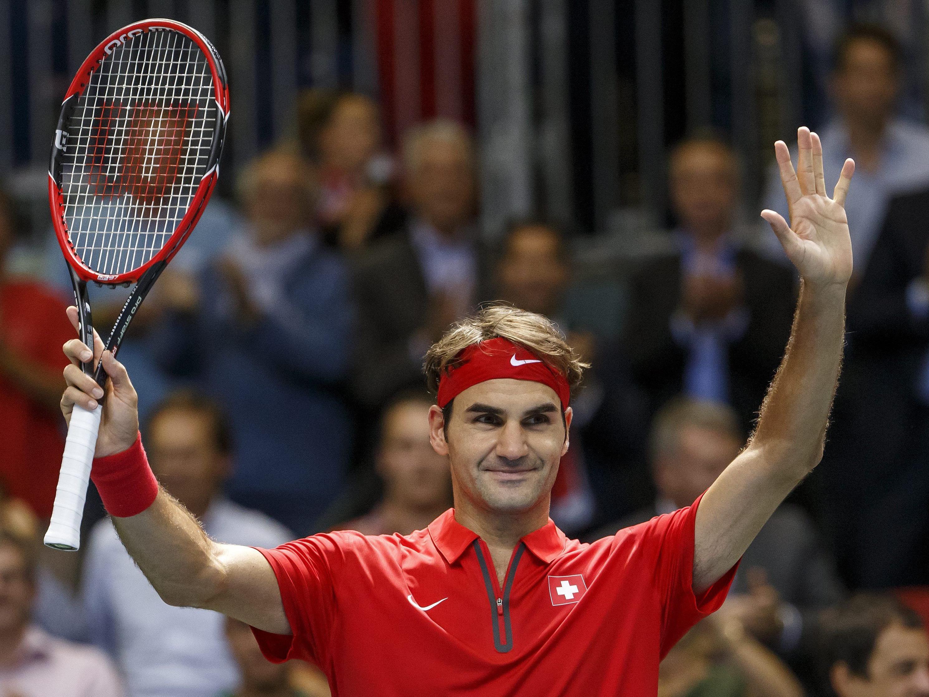 Edel-Fan auch nach elf Jahren Koma von Federer begeistert.
