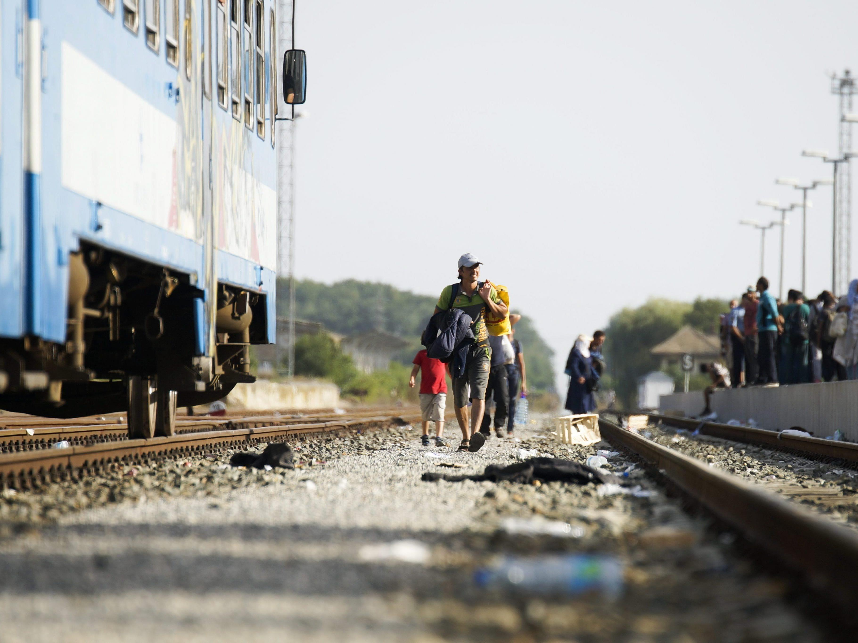 Spannungen wegen der aktuellen Flüchtlingskrise in ganz Europa