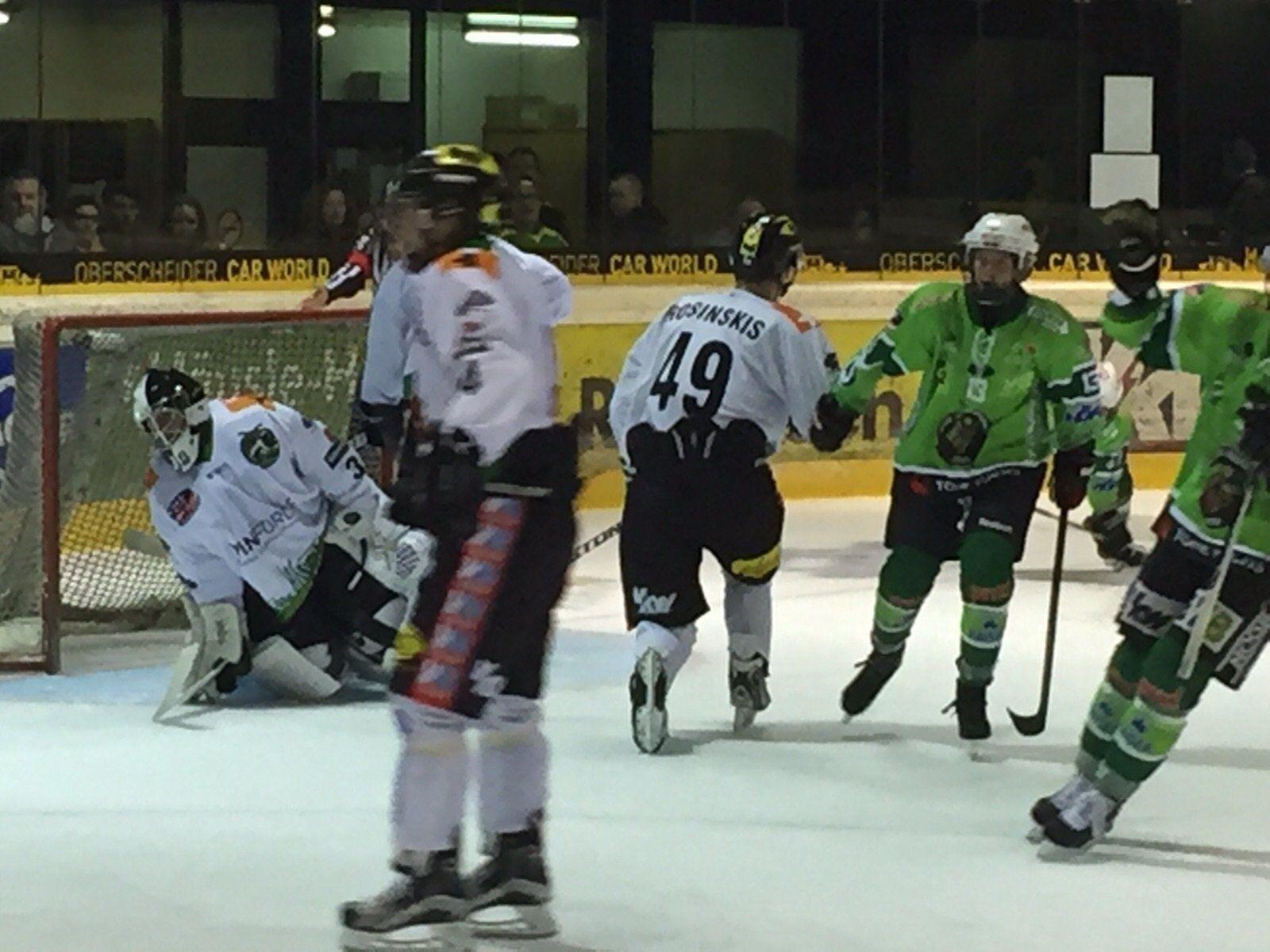 EHC Bregenzerwald verlor in Lustenau knapp mit 2:4