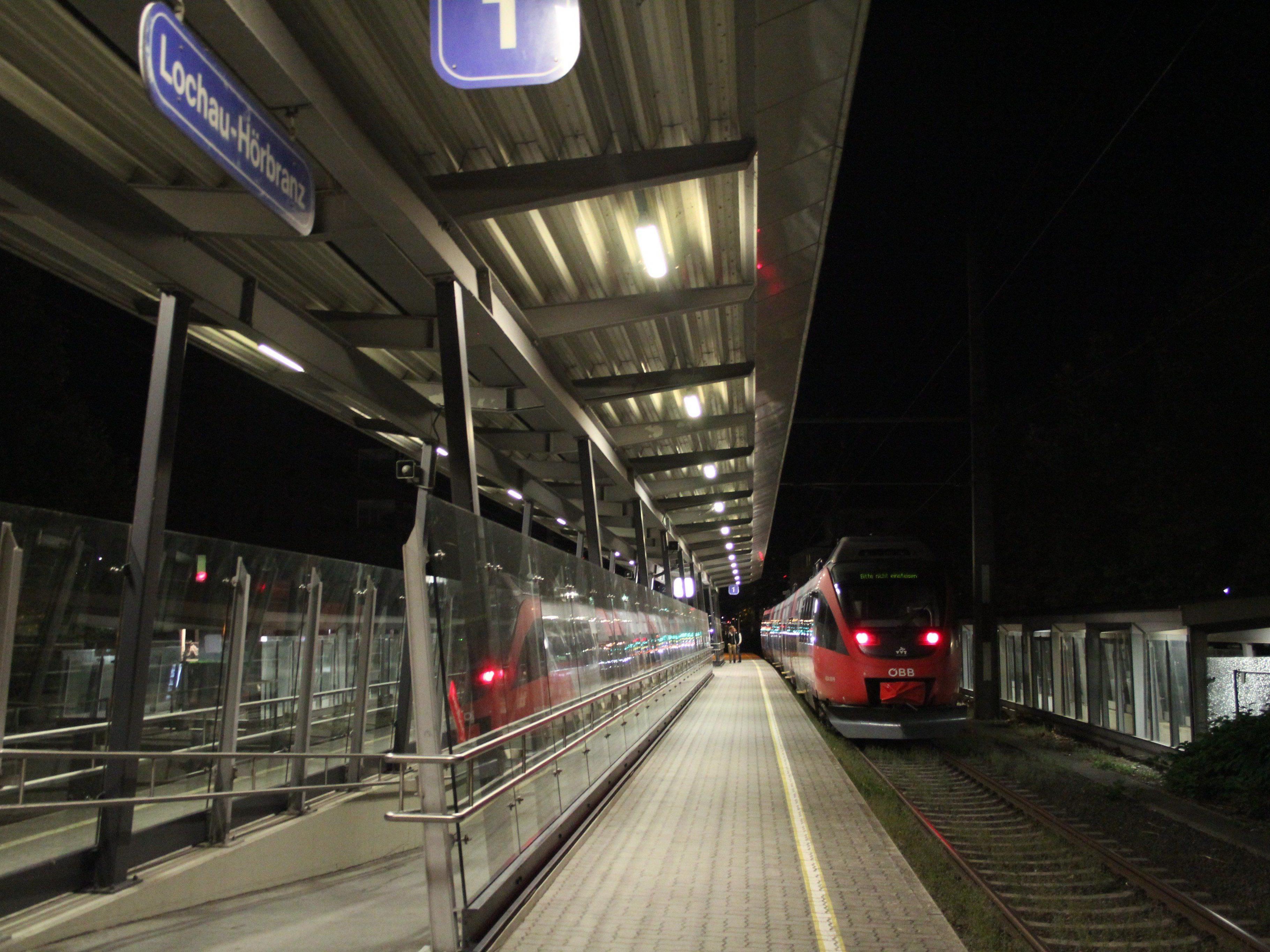 Derzeit ist Lochau der Endbahnhof der ÖBB.