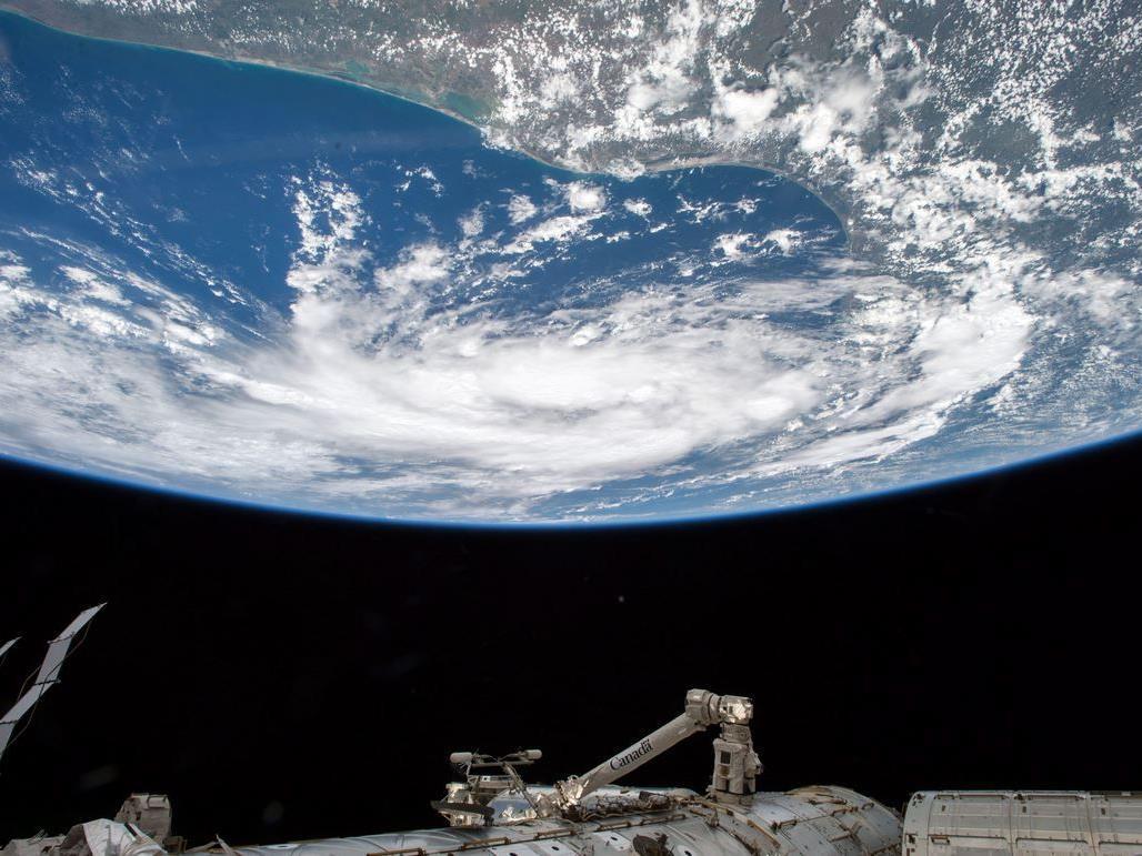 Die Nasa sendet live aus dem Weltraum.