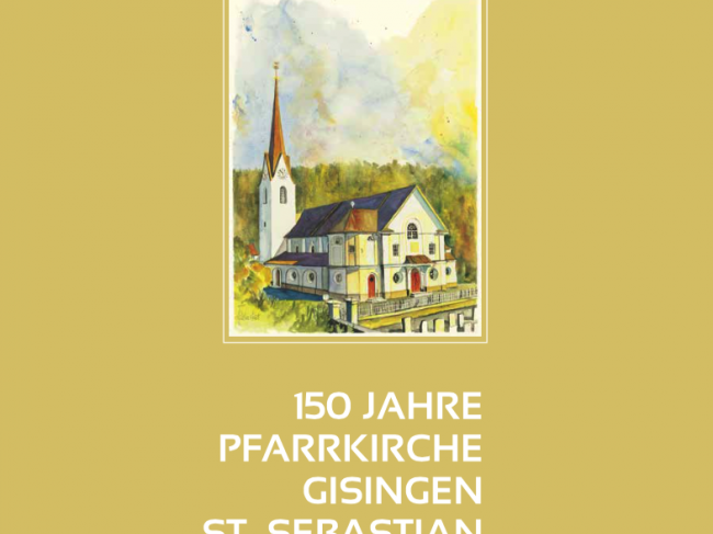 Bildumschlag des neuen Gisinger Buches.