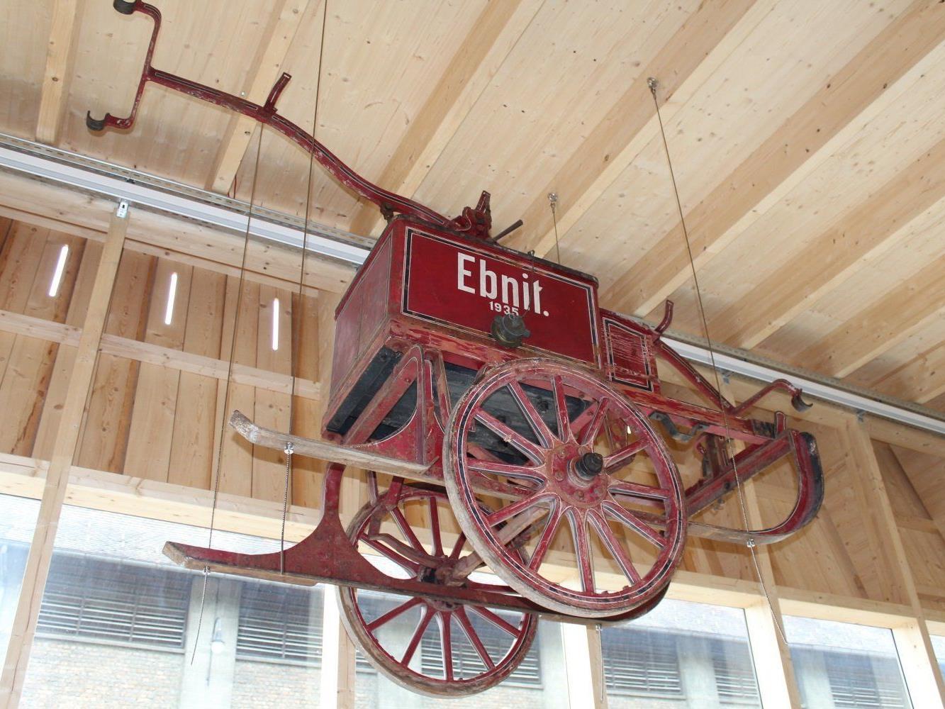 Auch die neue Depothalle des Landesfeuerwehrmuseums ist geöffnet.