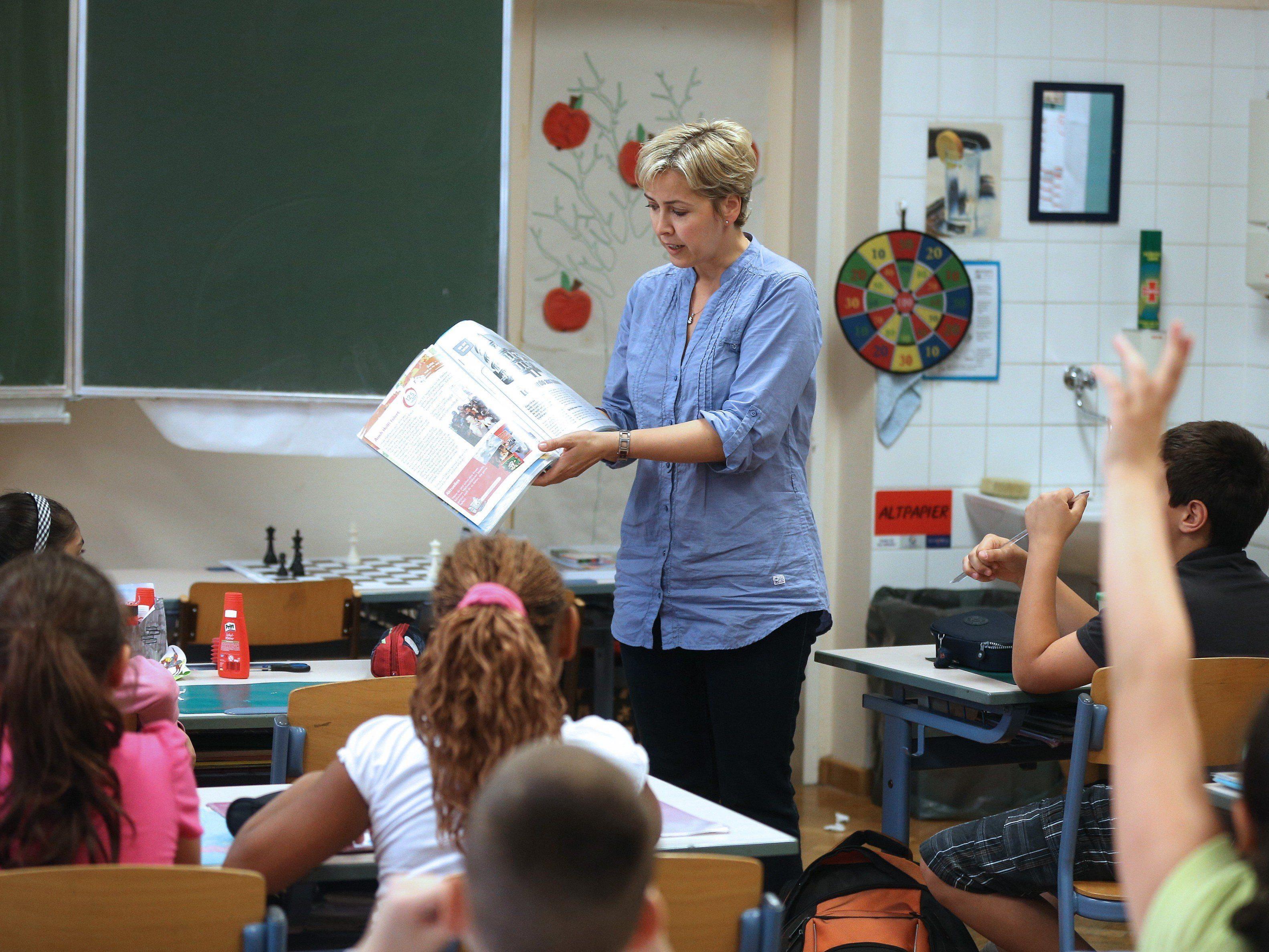 Viele Flüchtlingskinder starten in Österreich ins neue Schuljahr.