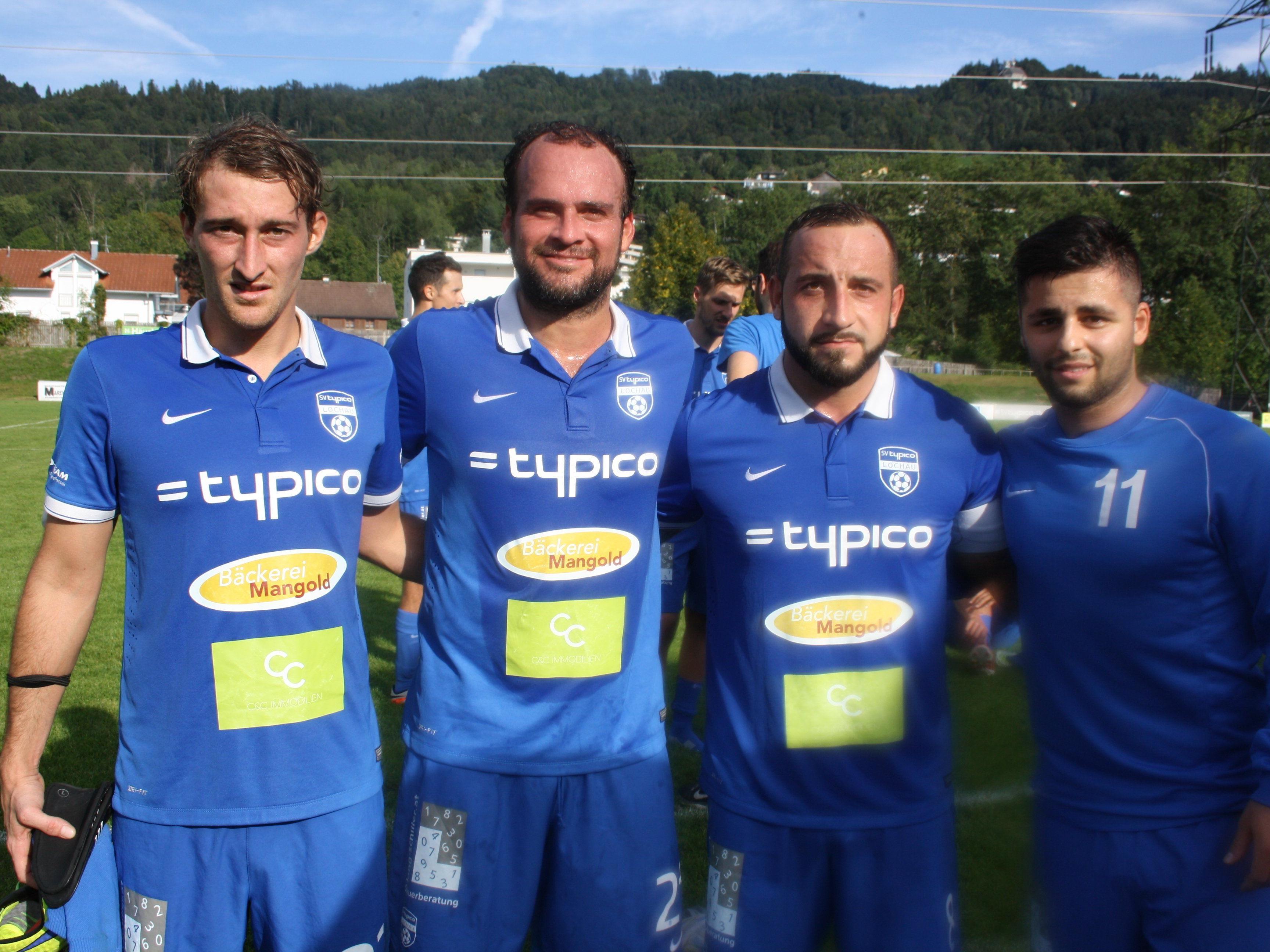 Julian Sterlika, Spielertrainer Pablo Antonio Chinchilla Vega, Kapitän Marco Marinkovic und Stefan Stojanovic konnten sich als Torschützen feiern lassen.
