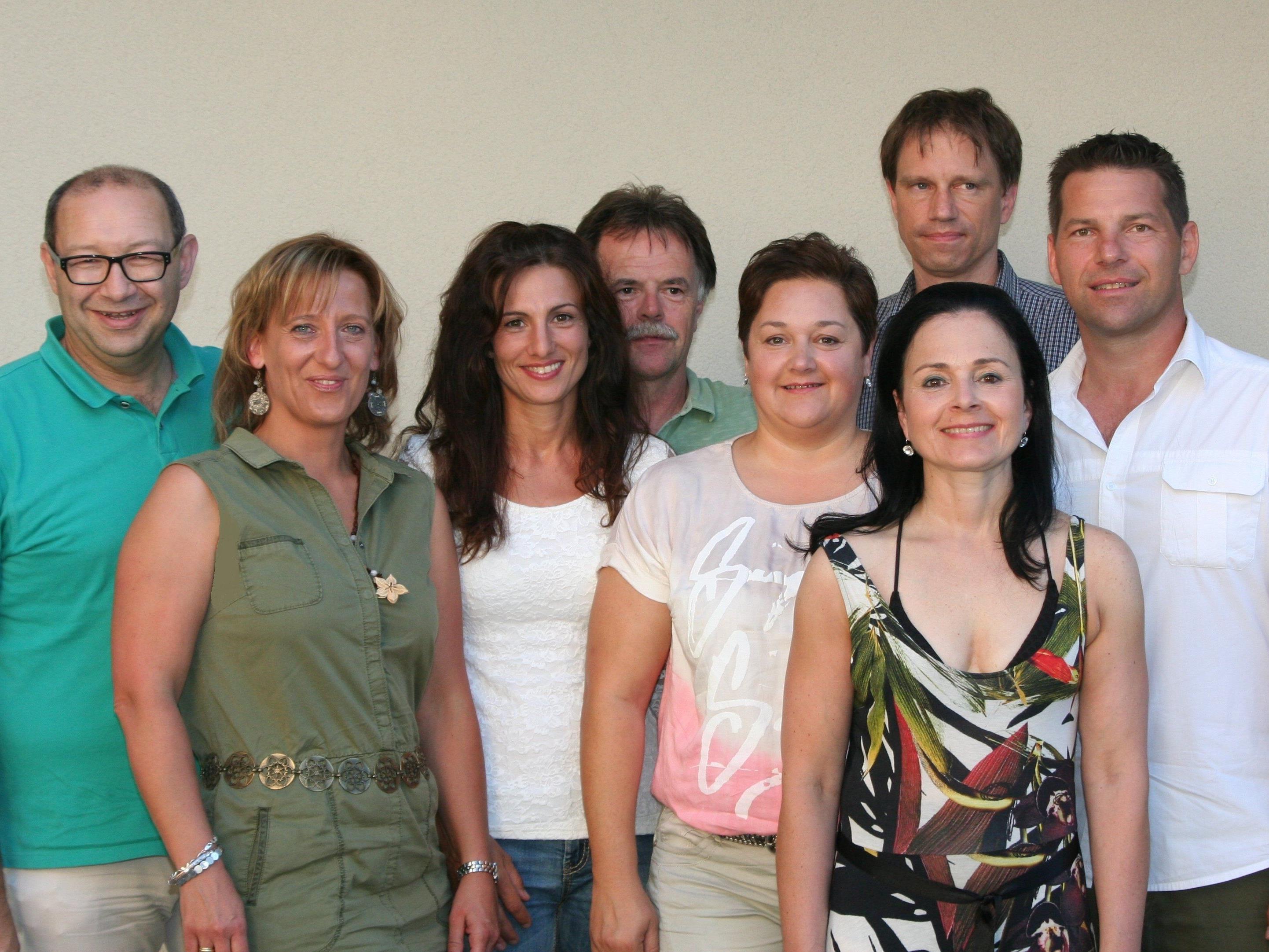 Der designierte Vorstand der Unternehmerbörse Leiblachtal mit Obfrau Veronika Matt lädt zur Jahreshauptversammlung ins Seehotel Am Kaiserstrand.
