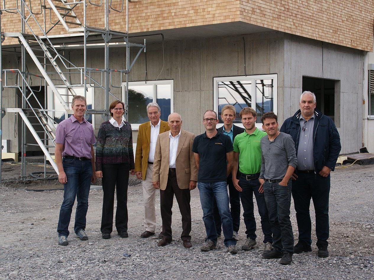 Firstfeier bei Mersen in Hittisau: Betriebserweiterung läuft nach Plan