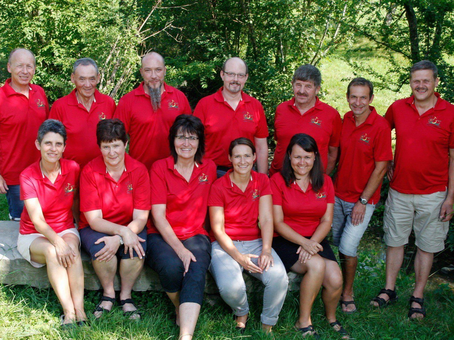Der Vereinsausschuss des OGV Alberschwende 2015