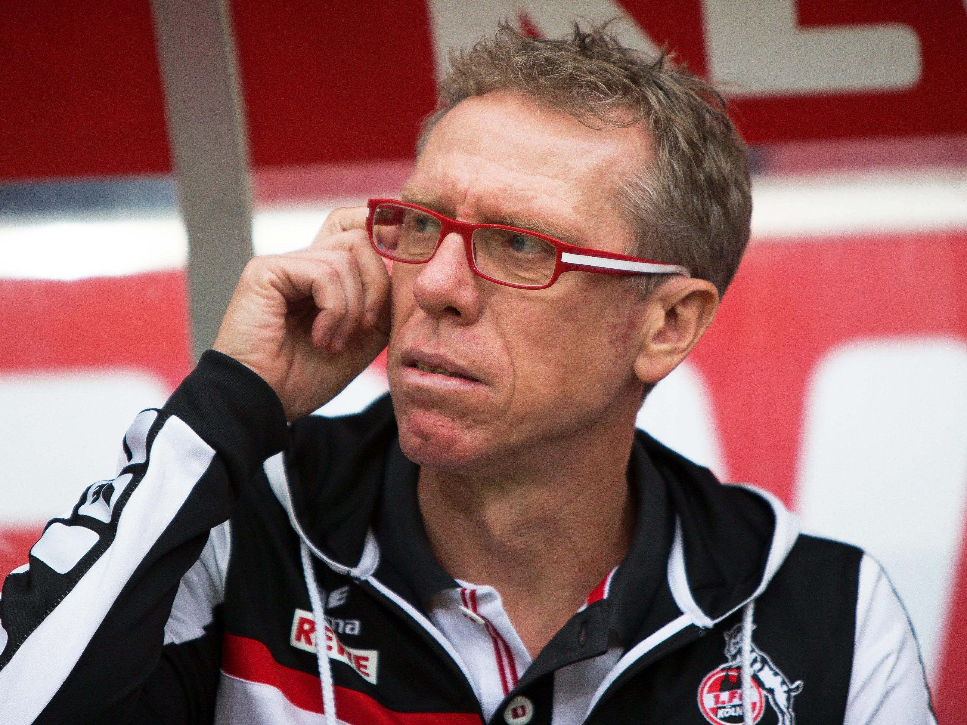 Peter Stöger trifft mit dem 1. FC Köln auf Landsmann Hasenhüttel mit Ingolstadt.