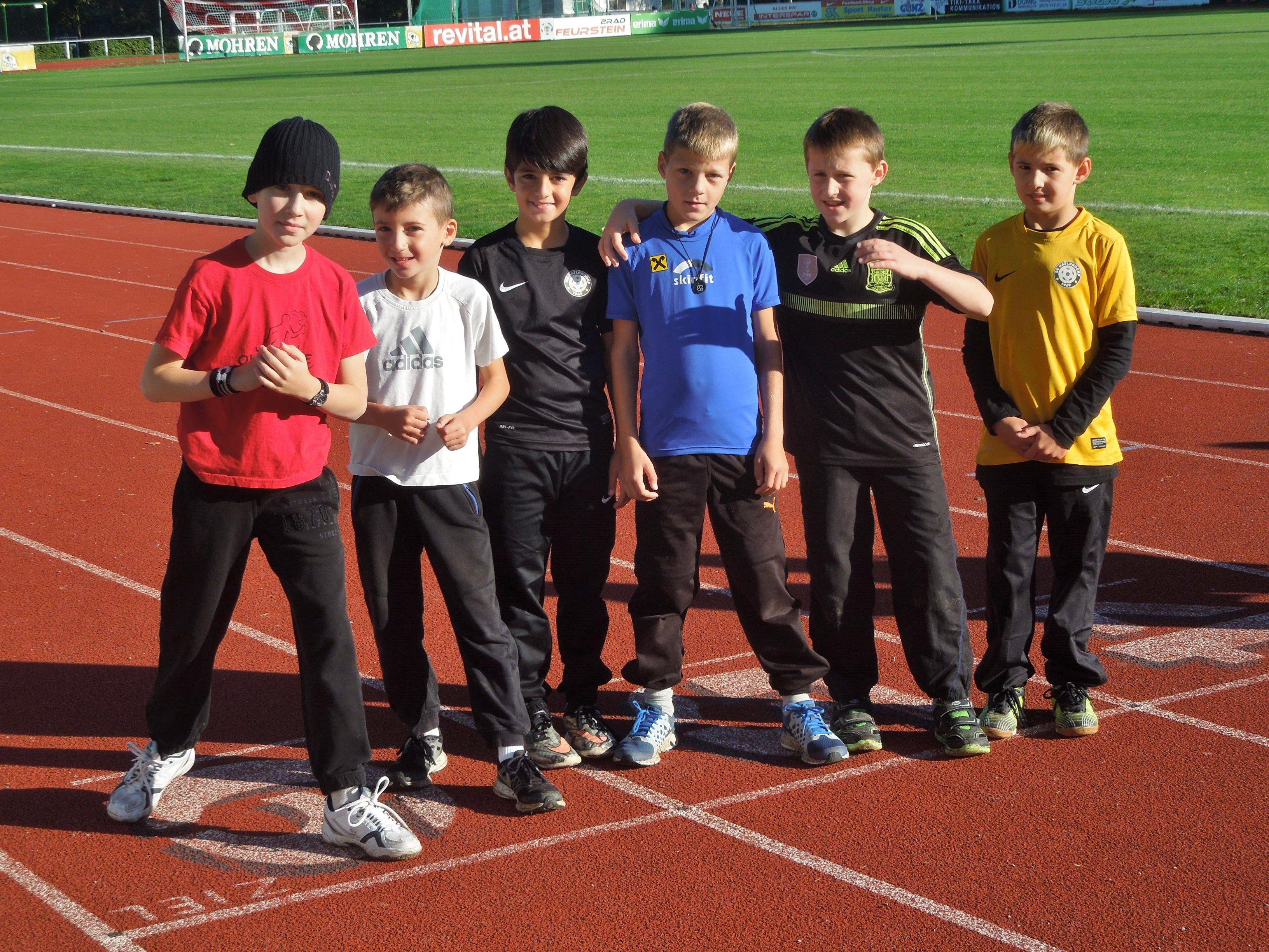 Die Kinder der VS Leopold hatten eine Menge Spaß und zeigten beim Leichtathletikfest echten Sports- und Teamgeist.