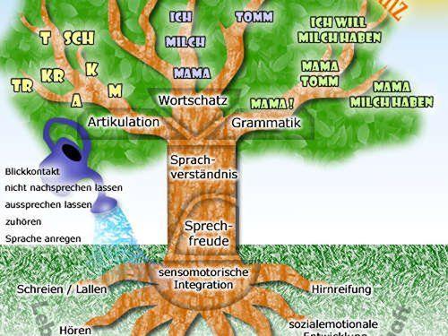 Der Sprachbaum.