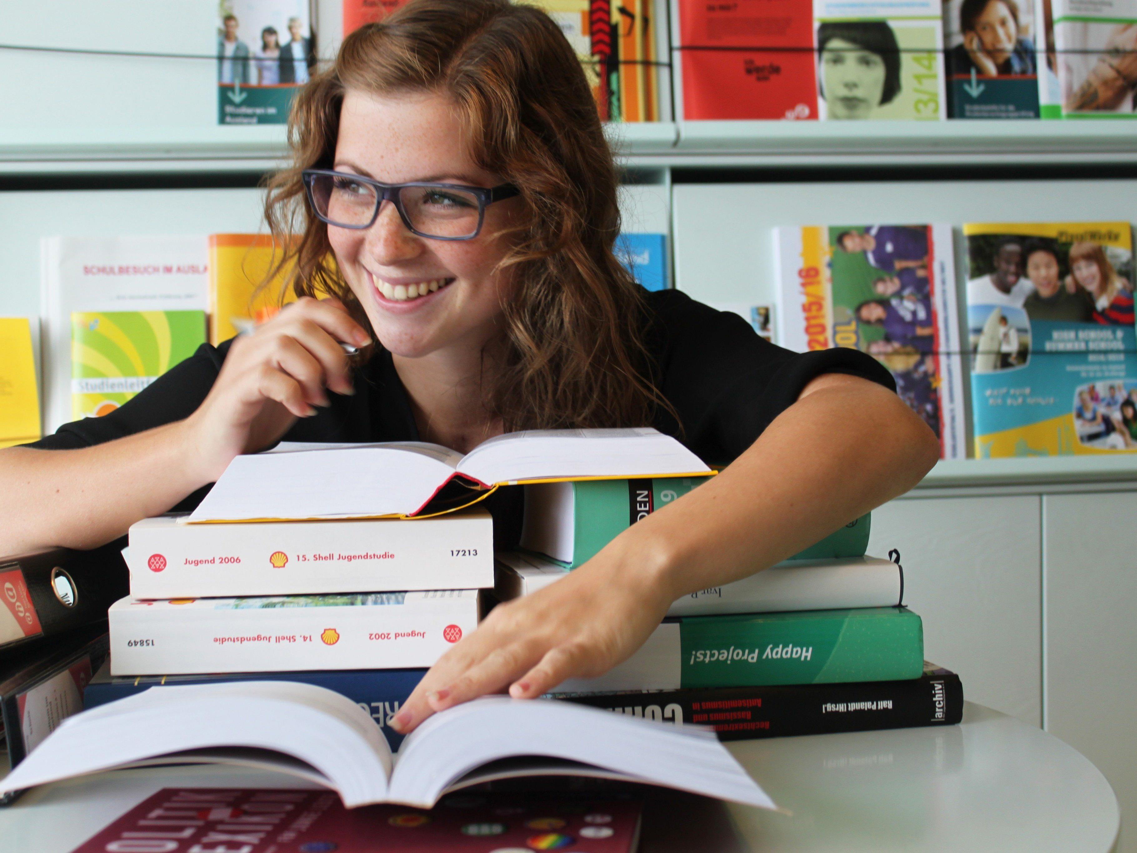 Nützliche Informationen für Studierende gibt es im aha.