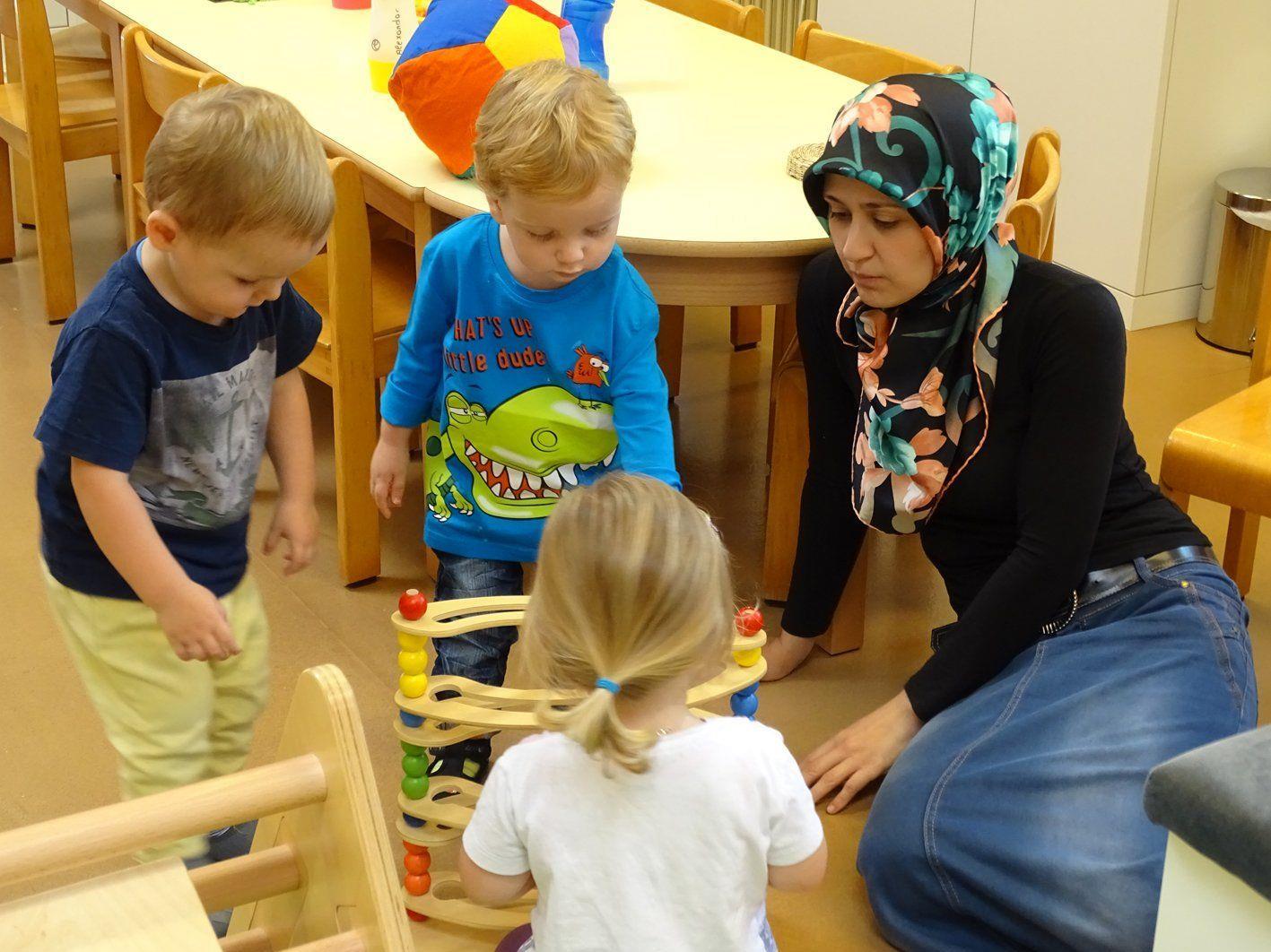 T-REX bietet eine optimale Betreuung für Kleinkinder von ein bis drei Jahren.