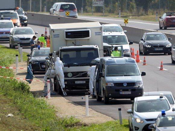 Spurensicherung auf der A4