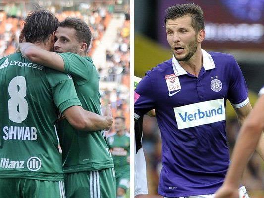 Rapid und die Austria sind am Mittwoch in der zweiten Cuprunde dran.