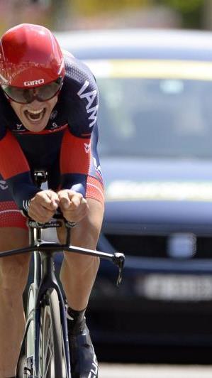Im Teamzeitfahren hatte Brändle mit IAM nach einem Reifenschaden eines Mannschaftskollegen nur Platz 13 belegt