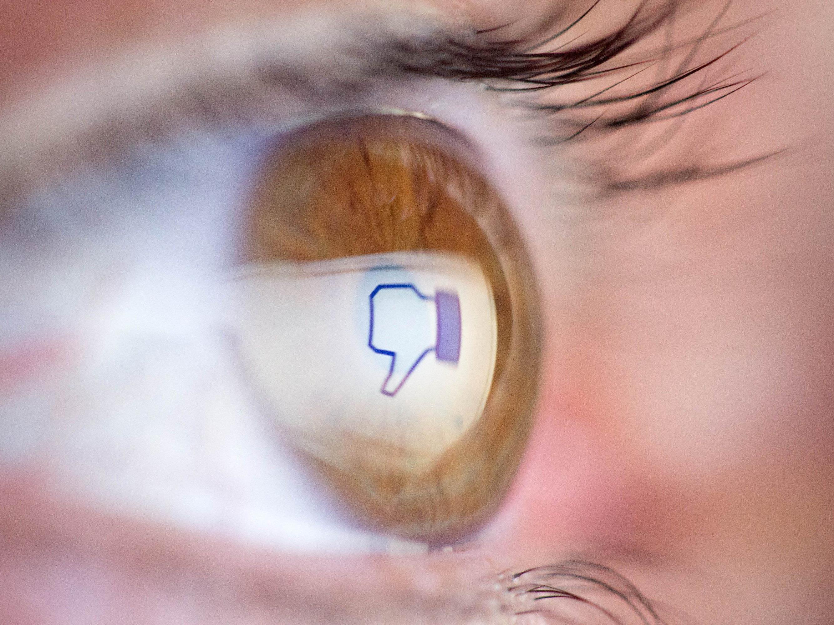 """Facebook arbeitet nach jahrelangem Zögern schließlich doch an einer Art """"Gefällt mir nicht""""-Knopf."""