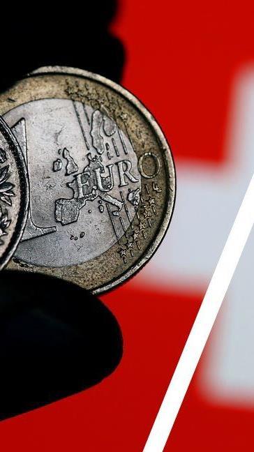 Der Euro ist erstmals wieder mehr als 1,10 Franken wert.