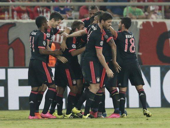 Bayern München (mit David Alaba) startete mit einem Sieg in die neue CL-Saison.