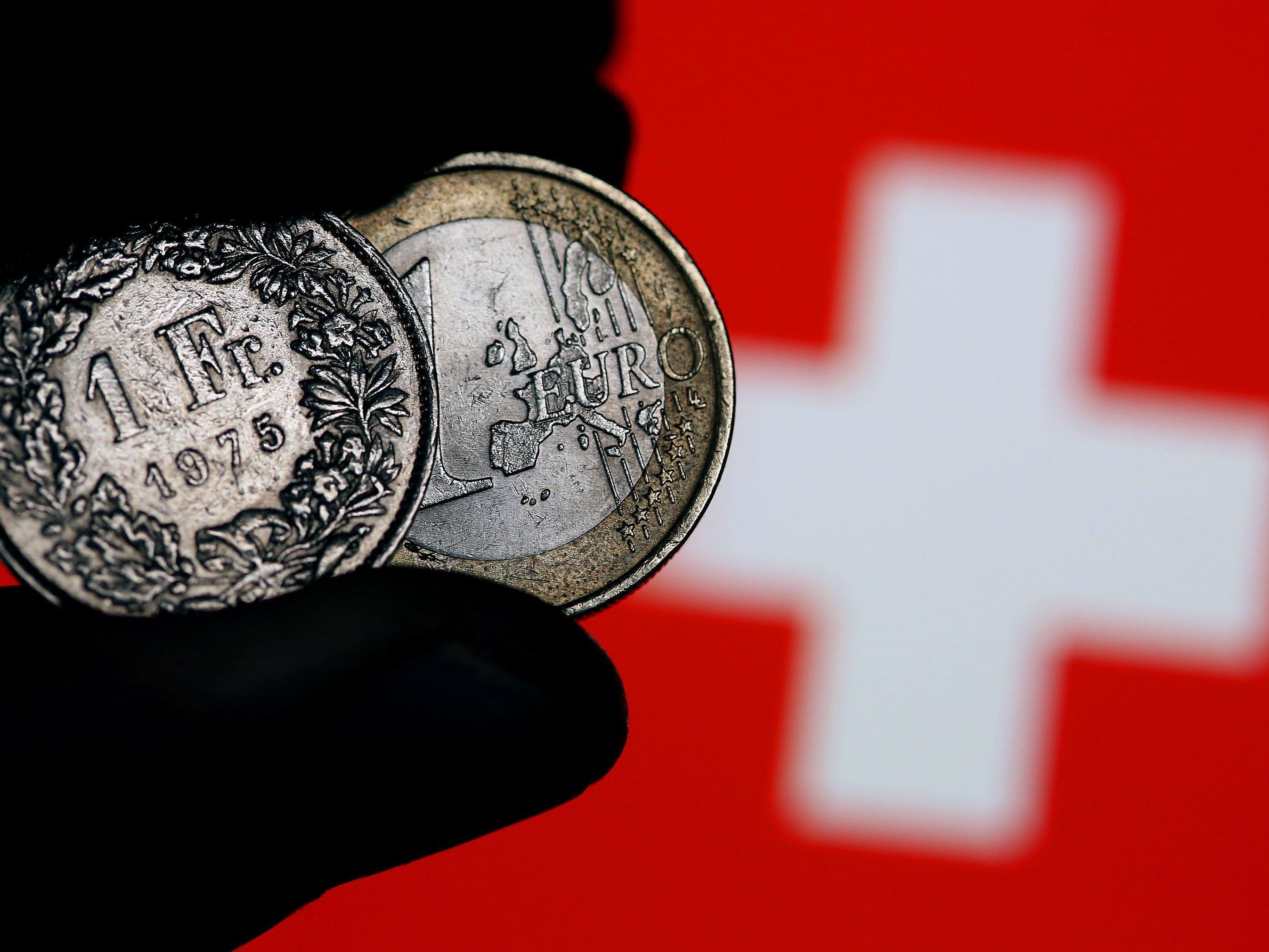 Grund für Kursveränderung ist Erstarkung des Euro.