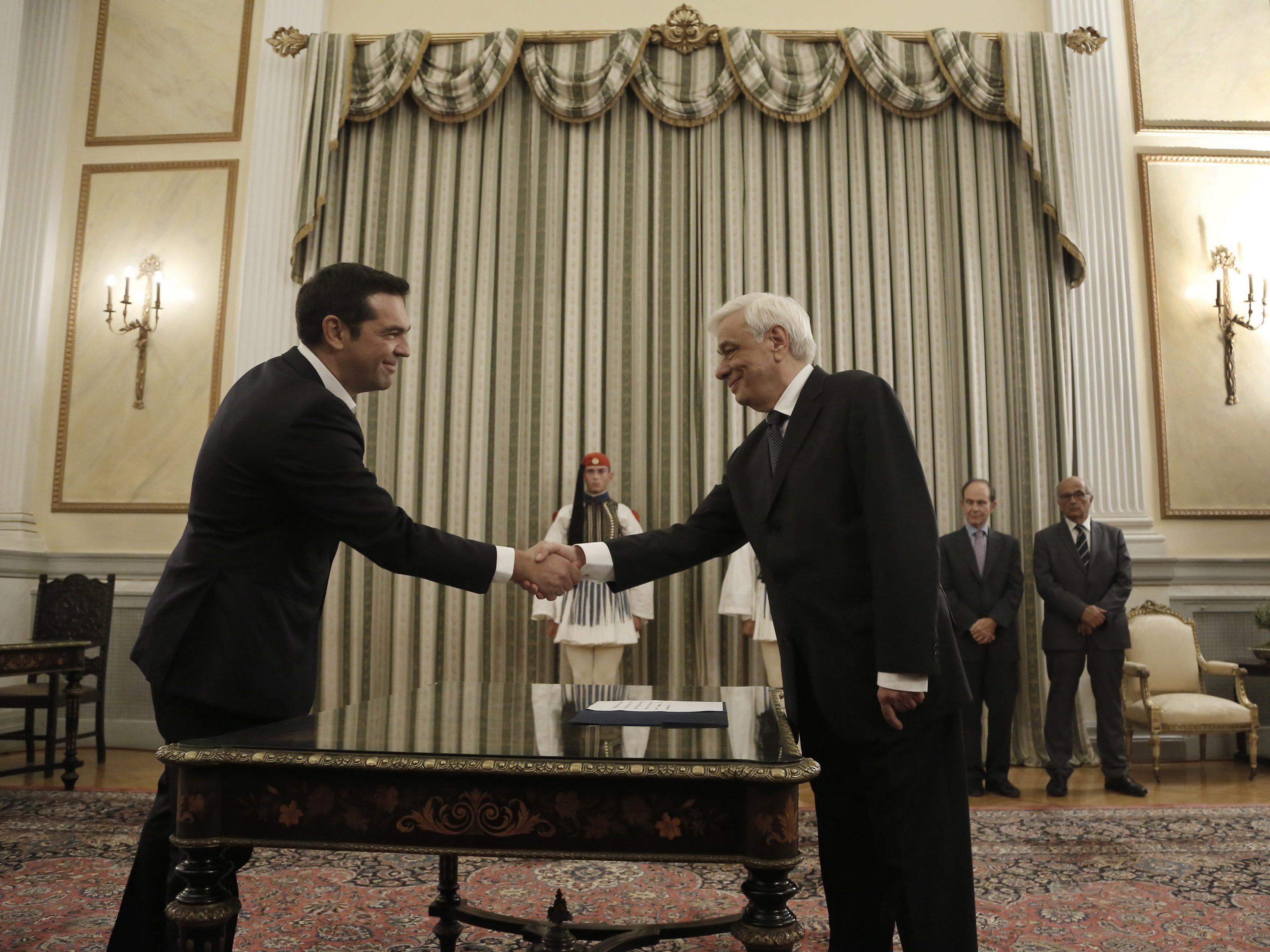 Tsipras setzt bei Auswahl des Kabinetts auf Kontinuität
