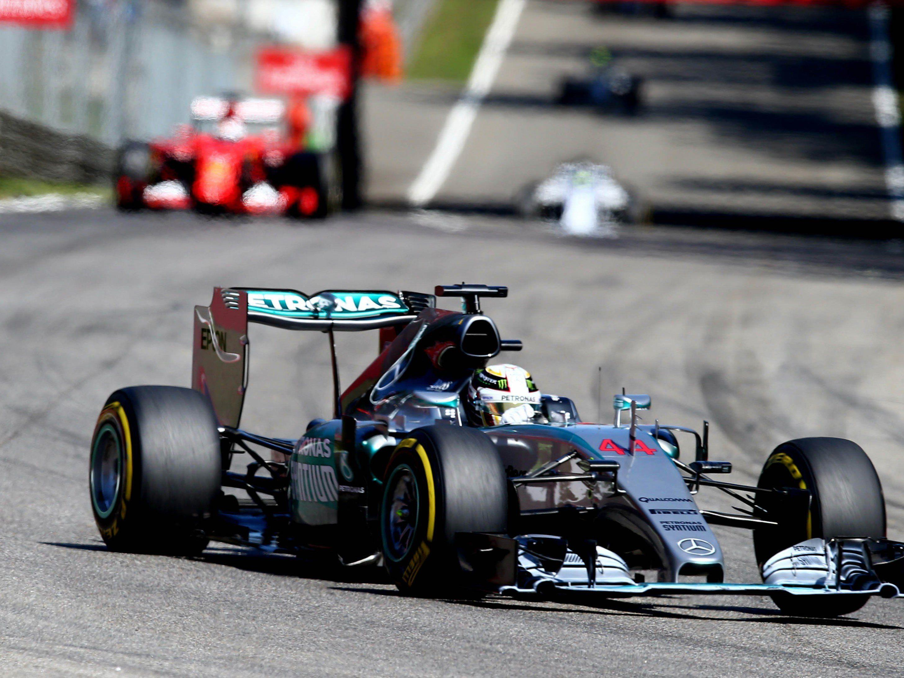 Kann in der Formel 1 derzeit niemand aufhalten: Weltmeister Lewis Hamilton.