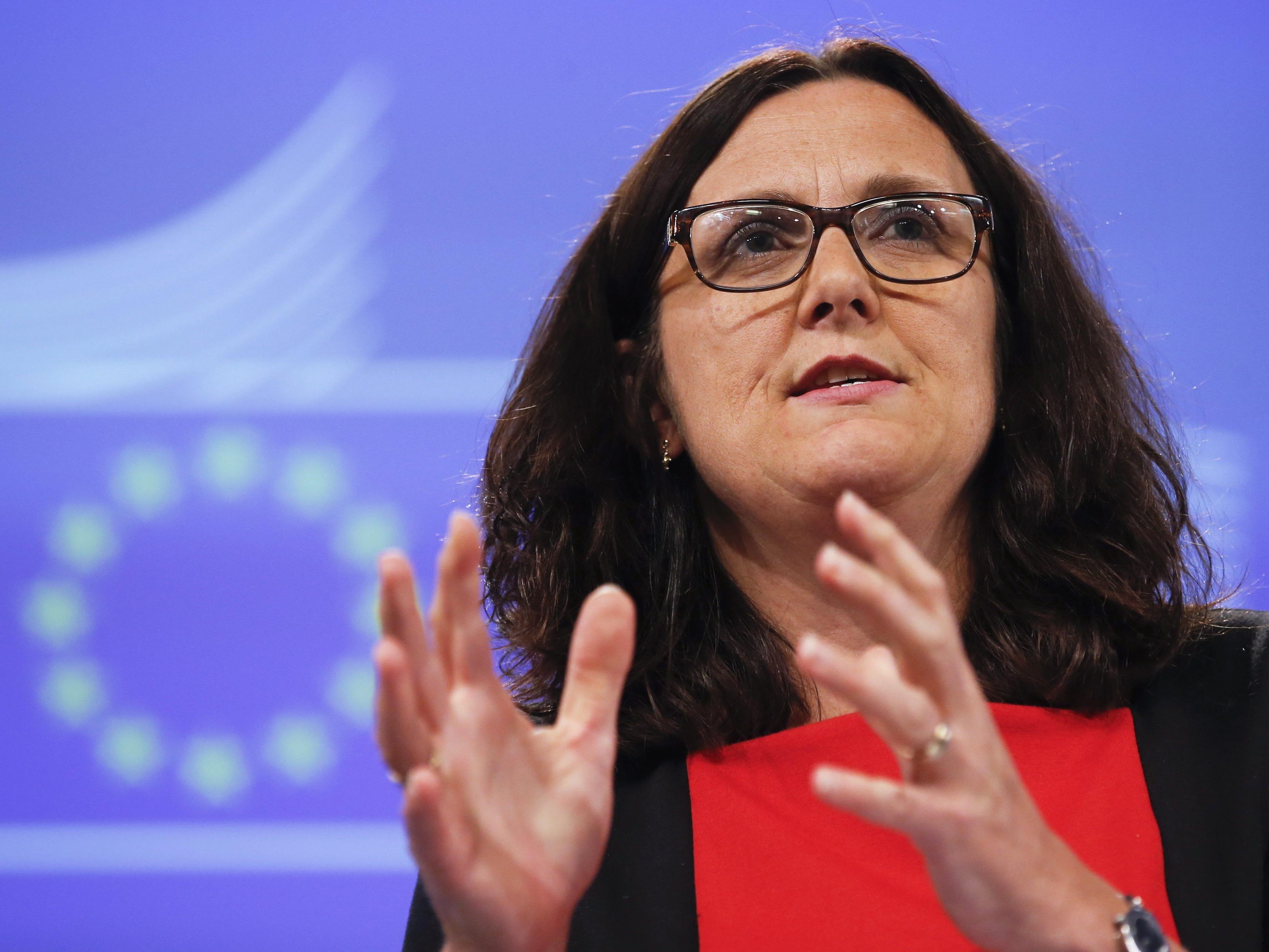 EU-Handelskommissarin Cecilia Malmstrom machte einen neuen Vorschlag in den TTIP-Verhandlungen mit den USA.