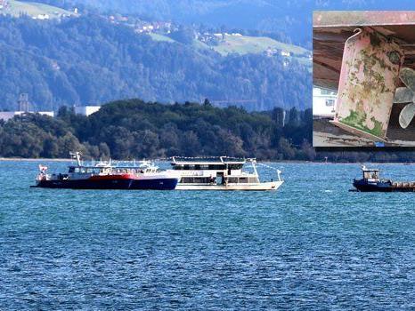 Bootsfahrt auf dem Bodensee endete am Mittwoch für 59 Passagiere beinahe in einer Katastrophe.