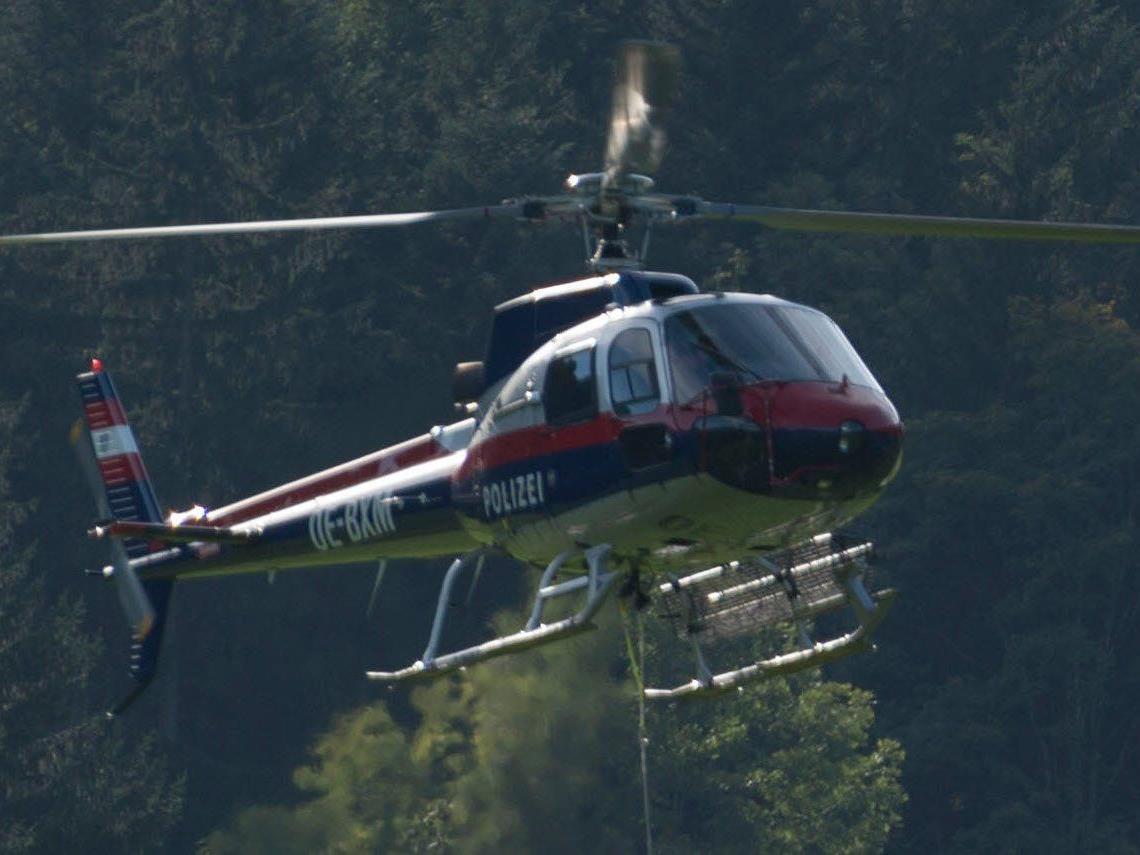 An der Suchaktion waren die Bergrettung Bezau und der Polizeihubschrauber beteiligt.