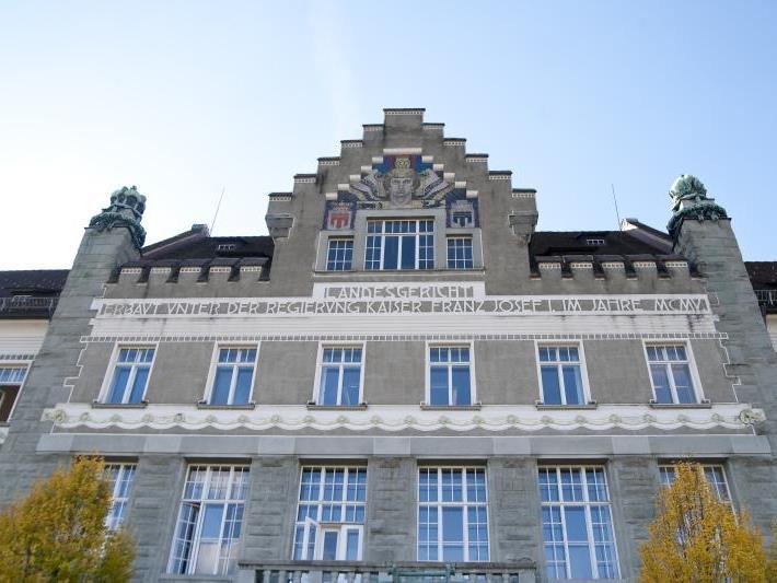 Schöffenprozess am Landesgericht Feldkirch