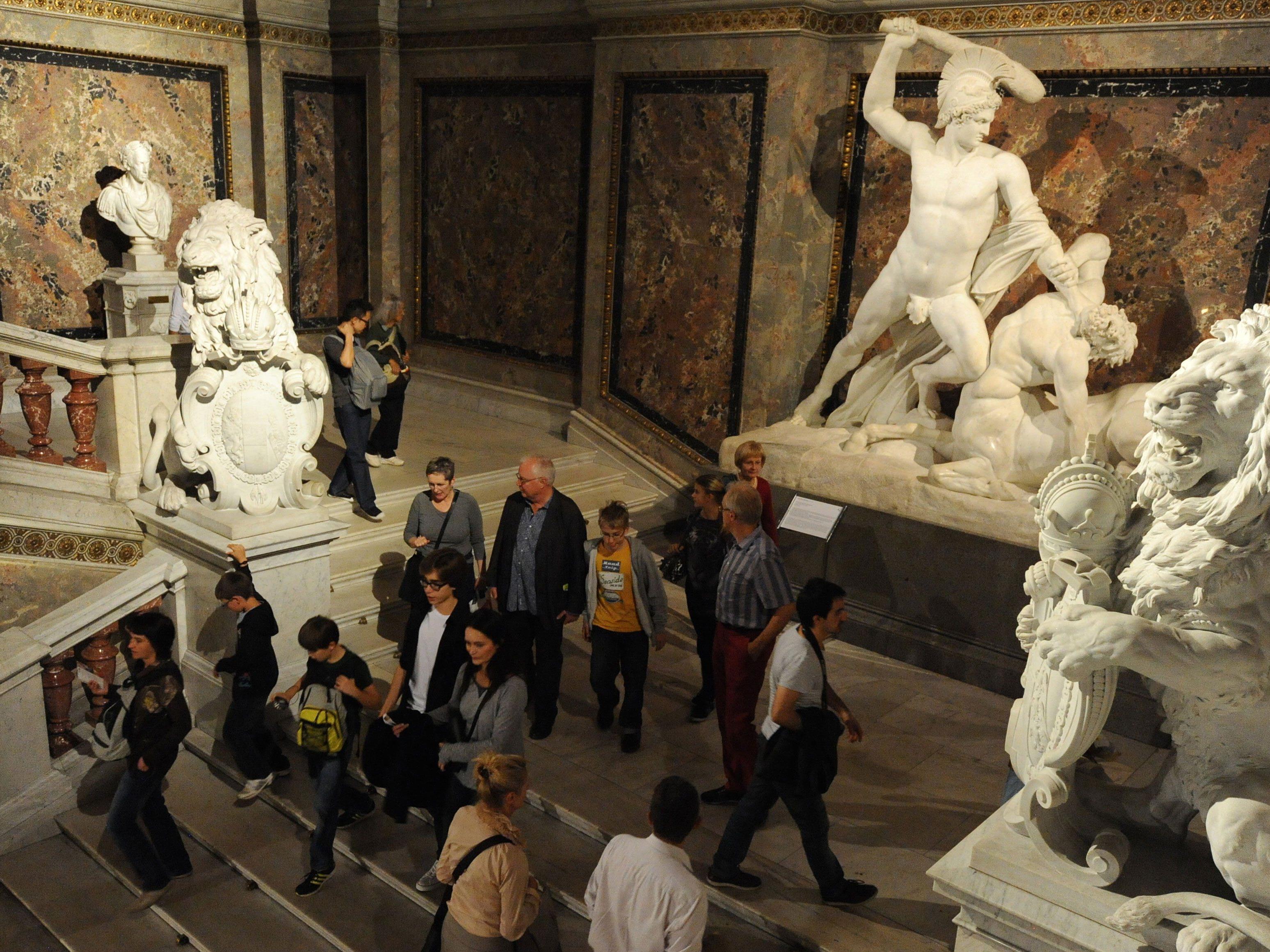 Eindruck von der langen Nacht der Museen.