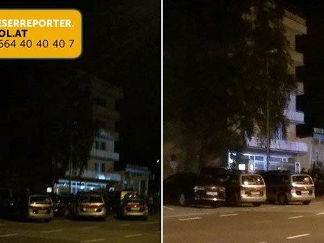 Mann hantiert mit Softgun - Polizei- und Cobraeinsatz in Asylwerberheim.