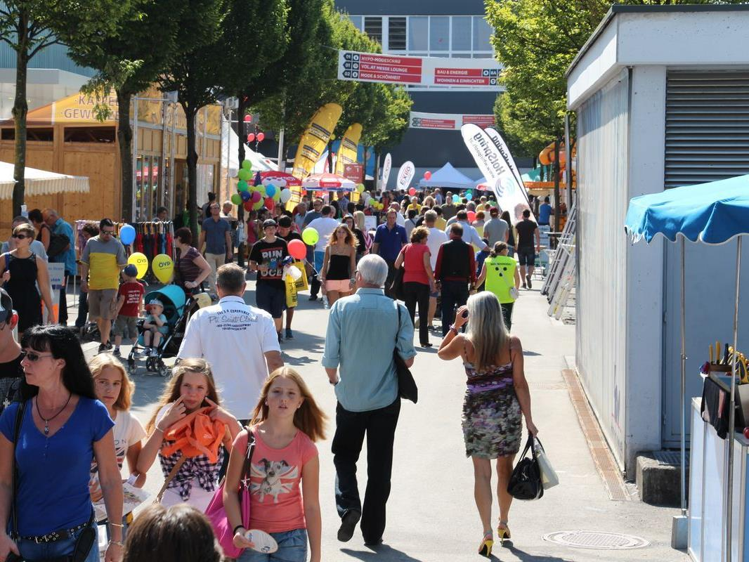 Die 67. Herbstmesse in Dornbirn öffnet ihre Pforten.