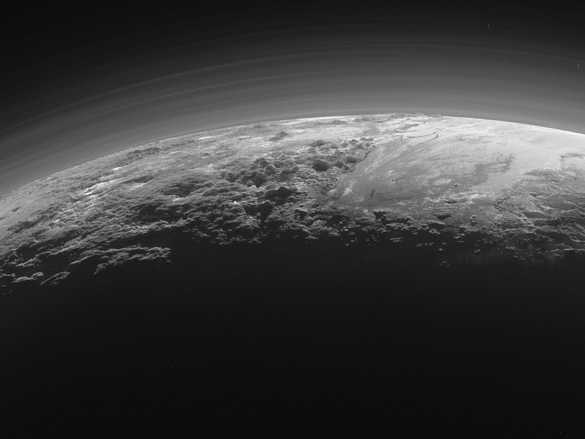 Neue Erkenntis über den Pluto.