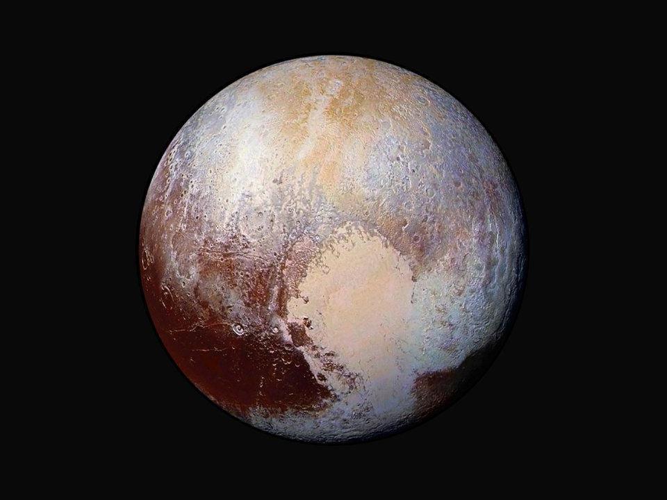 Die Schlangenhaut des Pluto zeigen neue beeindruckende Aufnahmen der Sonde New Horizons.