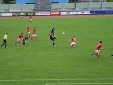 Auch gegen den FC Schwarzach setzte es eine 1:2 Niederlage.