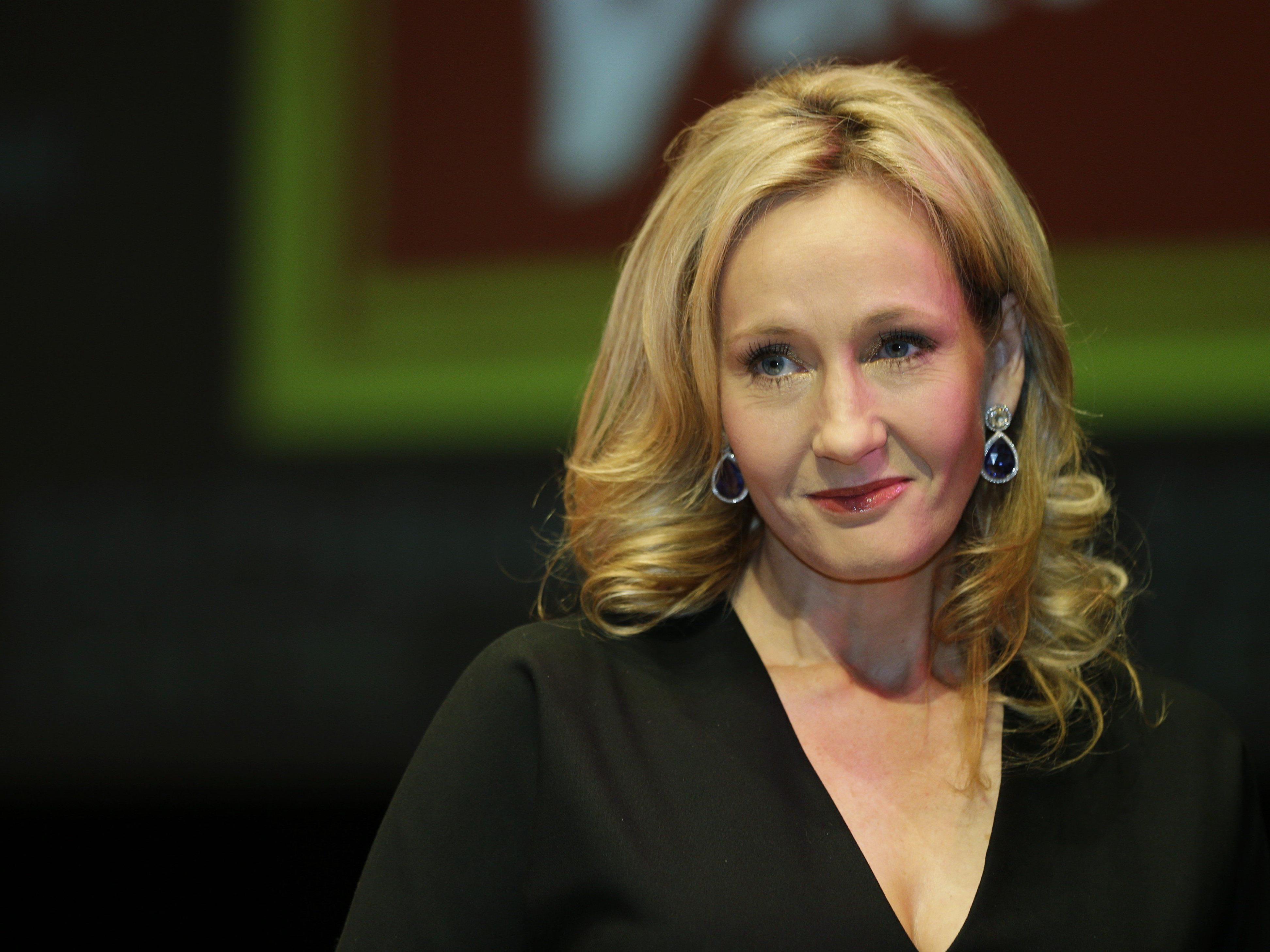 J. K. Rowling versetzte ihre Fans in Aufregung