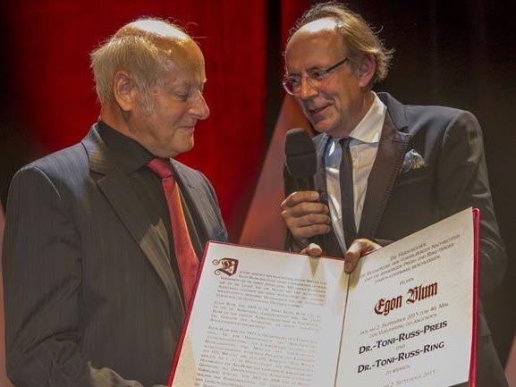 46. Russ-Preis an Ausbildungs-Experten Egon Blum verliehen.