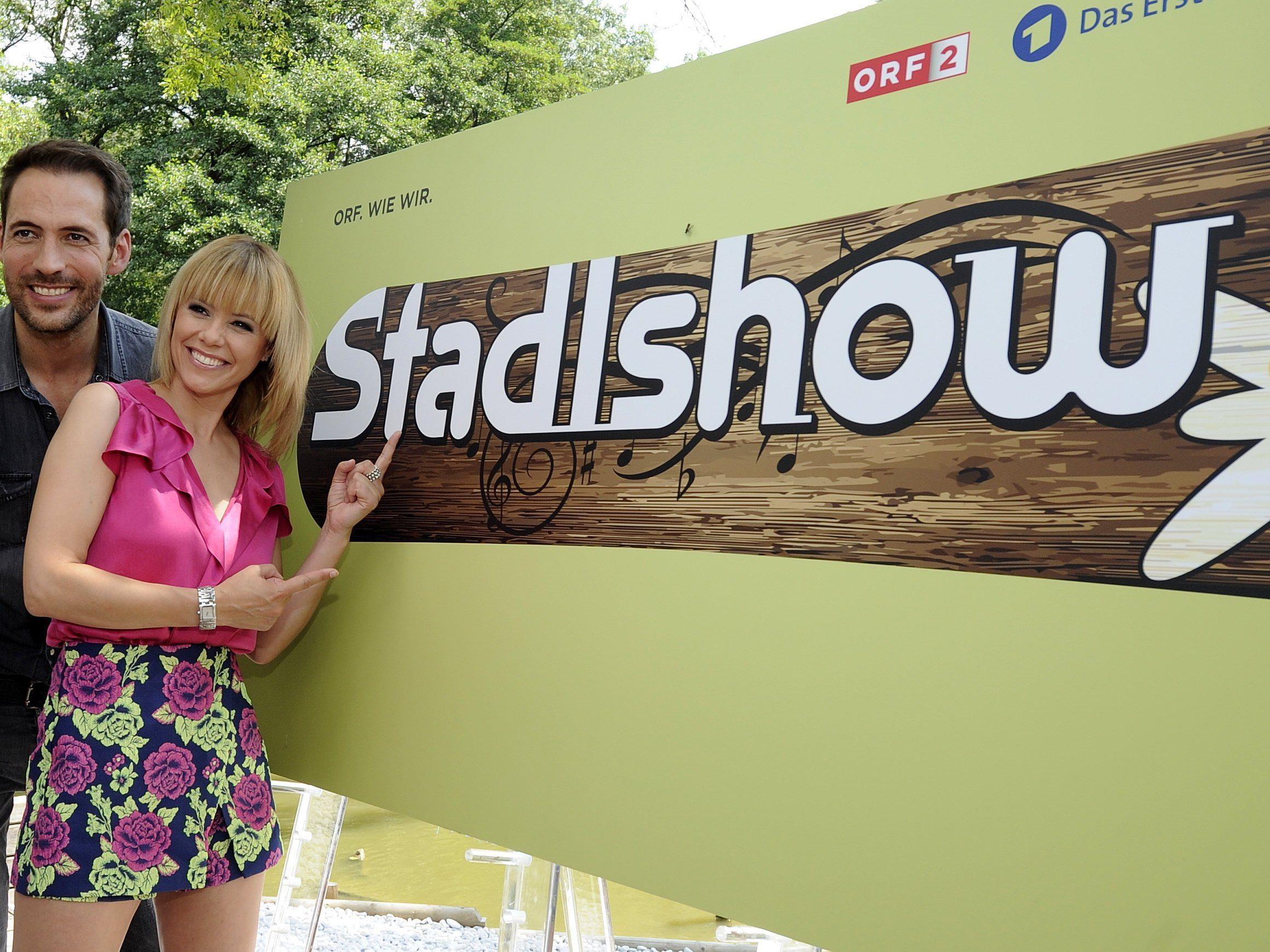 """Am 12. September startet die """"Stadlshow"""" mit Francine Jordi und Alexander Mazza"""