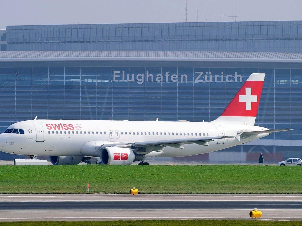 Unfall auf dem Flughafen in Zürich.